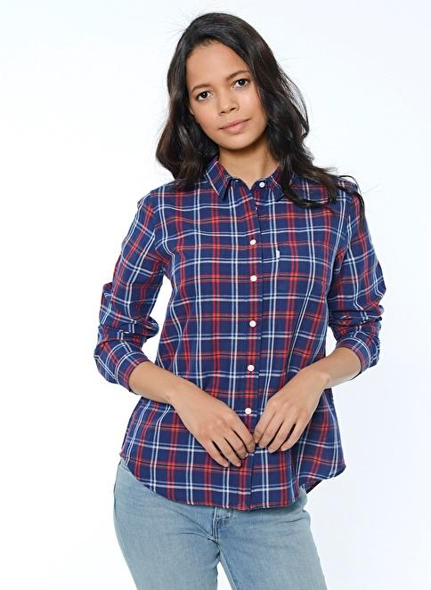 Levi's® Uzun Kollu Gömlek Mavi